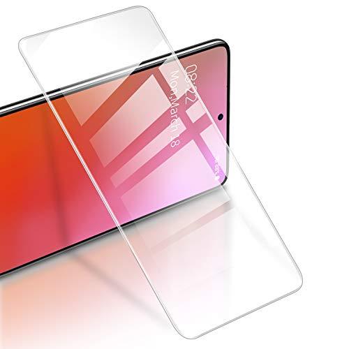 RIWNNI [3 Pezzi Vetro Temperato per Samsung Galaxy A71, 9H Durezza Anti Graffio Pellicola Protettiva Ultra Sottile Alta Definizione Protezione Schermo Senza Bolle per Samsung Galaxy A71 - Trasparente