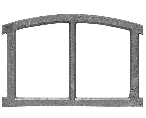 aubaho Fenster grau Stallfenster Eisenfenster Scheunenfenster Eisen 40cm Antik-Stil (x)