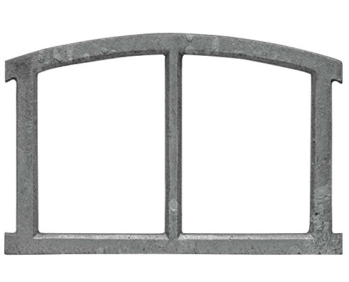 Fenster grau Stallfenster Eisenfenster Scheunenfenster Eisen 40cm Antik-Stil (x)