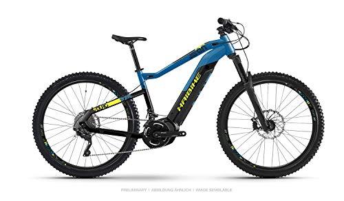 HAIBIKE Sduro HardNine 9.0 29'' Pedelec E-Bike MTB schwarz/blau/gelb 2019: Größe: S