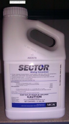 MGK Sector 1 Gal Permethrin Mosquito & Flying Pest & Insect...