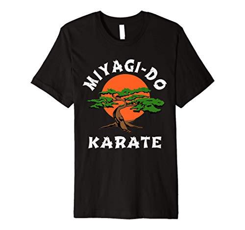 Vintage Miyagi-Do T-Shirt Karate Bonsai Tree Premium T-Shirt