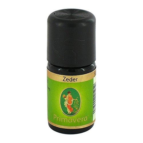 PRIMAVERA Ätherisches Öl Zeder 5 ml - Aromaöl, Duftöl, Aromatherapie - ausgleichend, stabilisierend, stärkend - vegan