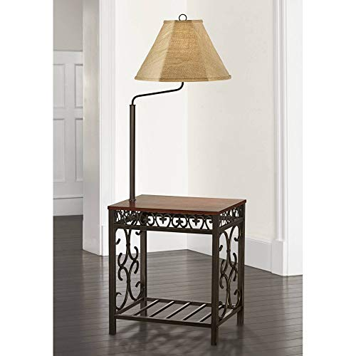 End Table Floor Lamp