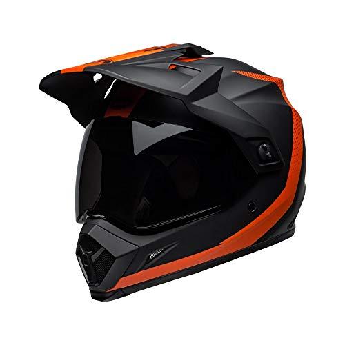 Motodak Helm Bell MX-9 Adventure MIPS Switchback matt schwarz/orange Größe XS