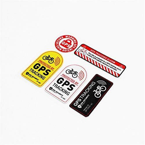 DXYMOO 1 Set Car Styling Warning GPS Bike Security Alarm Tracking Motorbike Bicycle Funny Sticker product image
