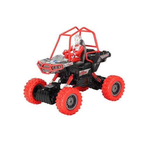 Lihgfw Fernbedienung Auto, RC Rock Off-Road-Fahrzeug 2.4GHz 4WD Fast Speed Racing Autos für Indoor/Outdoor (Color : EIN, Größe : 3 Batteries)