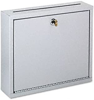 Buddy Products Interoffice Mailbox Wall Mounted Mail Vault with Outgoing Mail