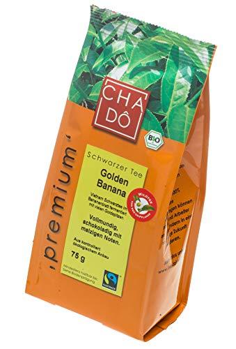 Bio Schwarztee Golden Banana | Wildtee aus Vietnam | Premium und Fairtrade | loser Blatttee im 75g Beutel