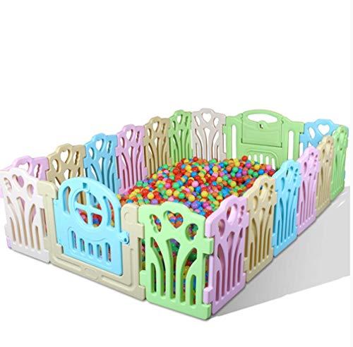 KAPR Baby Indoor Game Fence Toys Child Safety Bar Delivers Ocean Ball Rugged - Fabriqué avec des matériaux Non Toxiques de Haute qualité