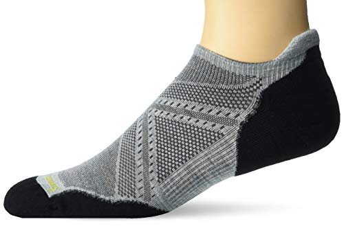 Smartwool PhD Outdoor Light Micro Socks - Men's Run Elite Wool Performance Sock FROSTY GREEN XL