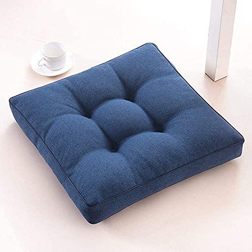 WHZG Cuscino Sedia Cuscino per sedie perfette per casa, autoveicoli, ufficio e viaggi, cuscino per sedili comfort, cuscino morbido cuscino per poltrona, per il massimo comfort di seduta, 45x45 cm Cusc