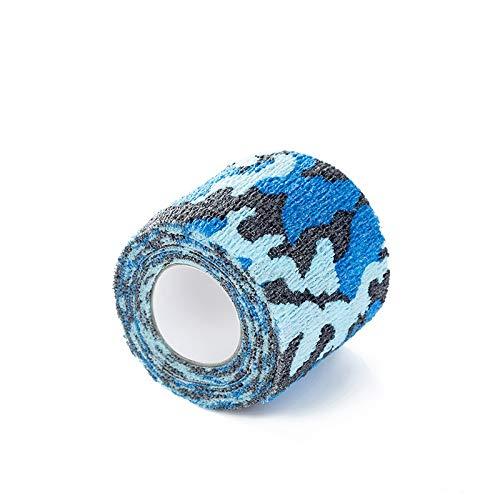 Ssg Auto-adhésives jetables Tattoo Grip Tattoo Tapes Bandages machine à tatouer Pen 2020 Nouveau (Color : Blue 5CM)