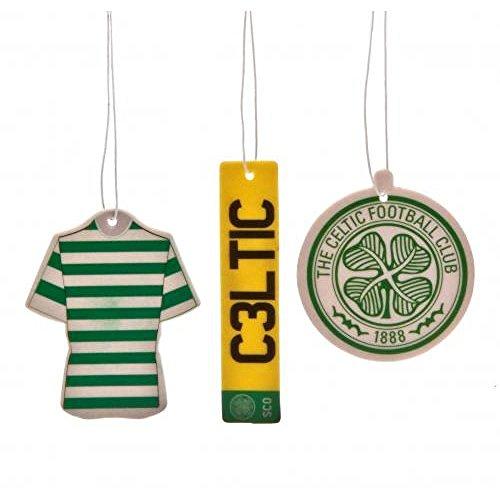 Coche Accesorios–oficial Celtic FC Ambientador (3unidades), diseño de fútbol regalo Ideas