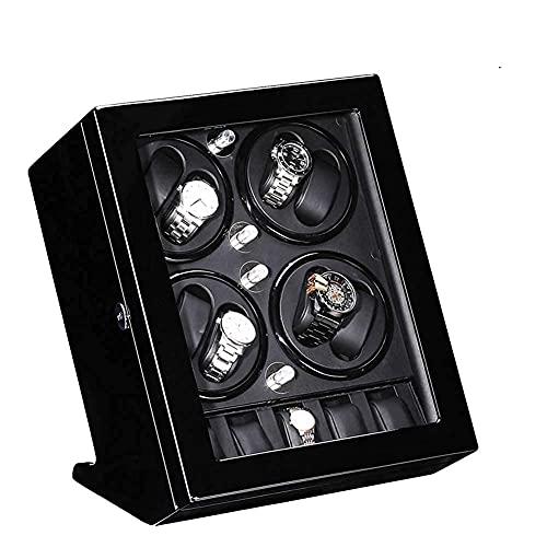 WBJLG Guarda 8 + 5 Cassa Automatica dell'orologio con Silenzioso Motore Mabuchi 5 modalità di Rotazione Orologi Automatici da Donna e da Uomo con vestibilità Singola o Doppia