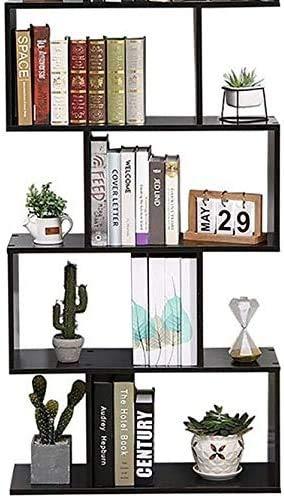 Etnicart – Bücherregal, Farbe: Wenge fürs Büro, modernes, zeitgenössisches Design, aus Holz, 70 x 23,5 x 127,5 cm, freistehend, mit Regalen, Würfeln und Würfeln, Design für Wohn- und Wohnzimmer.