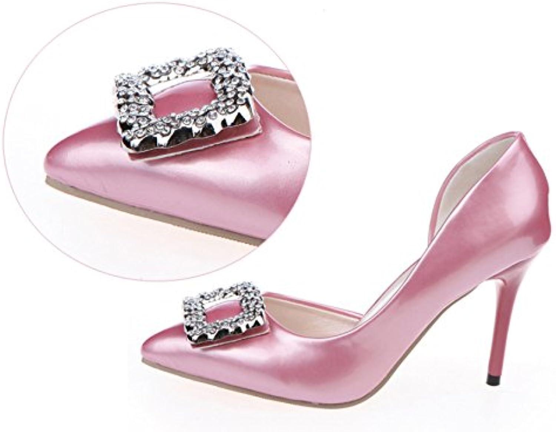 Naly Women's Bridal Bridesmaid shoes Wedding Dress Pointed Toe Pump