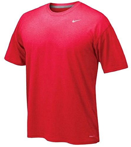 Nike Men's Legend Short Sleeve Tee, Scarlet, L