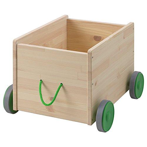 ZigZag Trading Ltd IKEA FLISAT - Contenitore per giocattoli con ruote