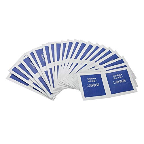 Desinfectie wattenschijfje, 100 stks/doos alcoholdoekjes voor doorboord oor Zilver juweel Traval Treingebruik