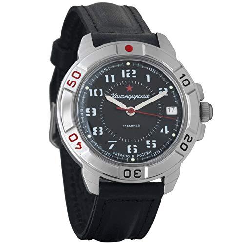 Vostok / Wostok Komandirskie 2414 431186 Russisches Militär Mechanische Uhr