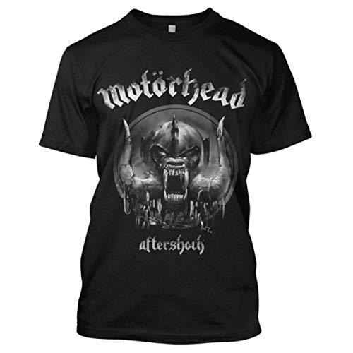 Motorhead DS EXL Aftershock Camiseta, Schwarz/Schwarz, M para Hombre