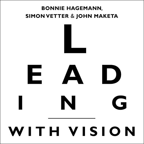 Leading with Vision audiobook cover art