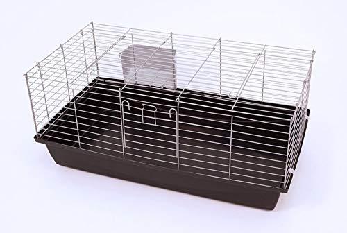 Ollesch Hasenkäfig 'Rabbit' in Silber/anthrazit