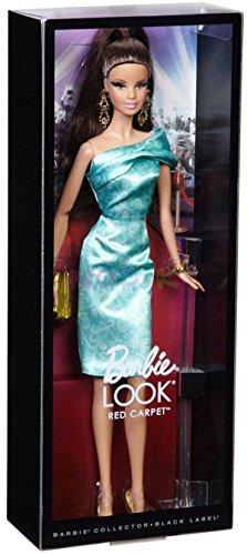 Barbie - Muñeca Look con Vestido, Color Verde (Mattel BCP88