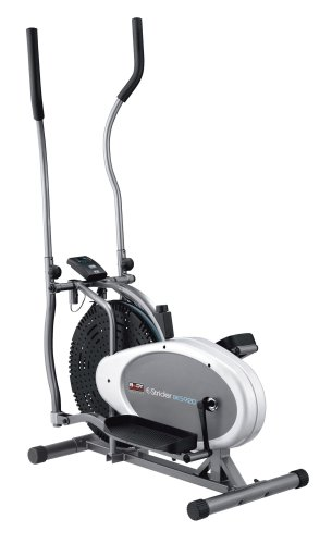 Body Sculpture BE5920 Dual-Action Air Elliptical Cross Trainer | Adjustable Air Resistance | Track Your Progress | More