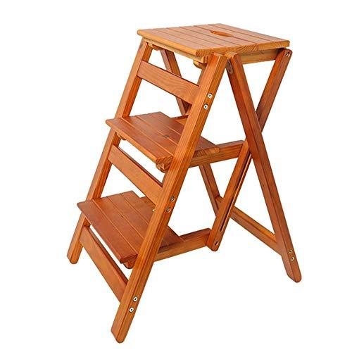 yahao wood folding step stool