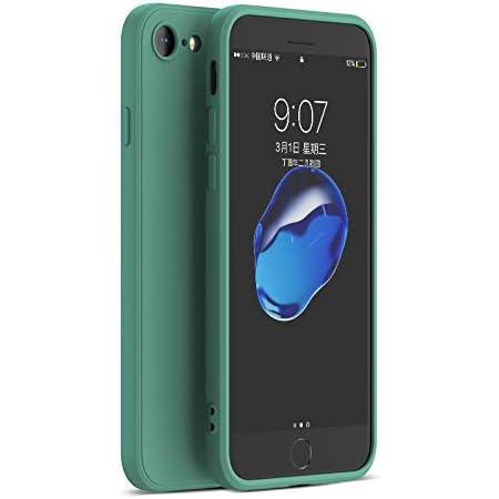 PANDA BABY iPhone 8/iPhone 7/SE2シリコンケース レンズの全面保護 次世代iPhoneの手触り (ミッドナイトグリーン)