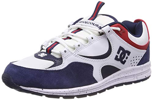 DC Shoes Herren Kalis Lite SE Skateboardschuhe, Mehrfarbig (White/red/Blue XWRB), 42 EU