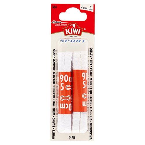 Kiwi Schnürsenkel, flach, Pol, Weiß, 13.99 g