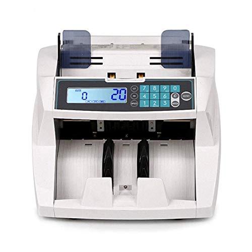 CHENNA Máquina de Contador de Dinero Contador de Ley de denominación Mixta, UV/MG/MT/IR Detección falsificada, Valor en Efectivo Contador de Dinero Moneda múltiple for Banco de pequeñas Empresas