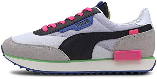 PUMA Womens Future Rider Play On Lace Up Sneakers Shoes - White - Size 9.5 B