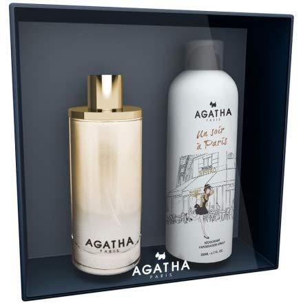 Un Soir a Paris by Agatha Eau de Parfum Spray Set de regalo