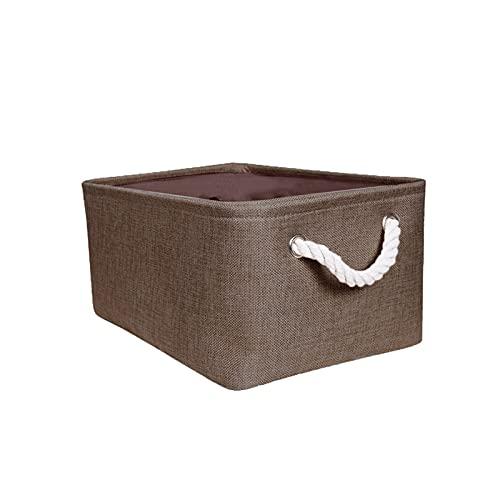 QOXEFPJZ Bolsa de Almacenamiento Caja de Almacenamiento de algodón y Lino Gran Capacidad para Ropa Interior Ropa Interior Ropa Ropa Organizador Herramienta de Almacenamiento de hogar (Color : B)