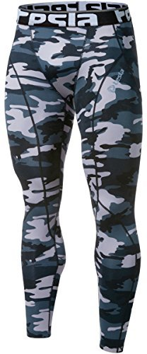 Tesla TM-P33-CB_X-Small j-s Men's Thermal Wintergear Compression Baselayer Pants Leggings P33