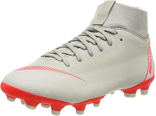 Nike Unisex Niños Jr. Mercurial Superfly Vi Academy Mg - Zapatillas de deporte, Wolf Grey Lt Crimson Pure, 36 EU