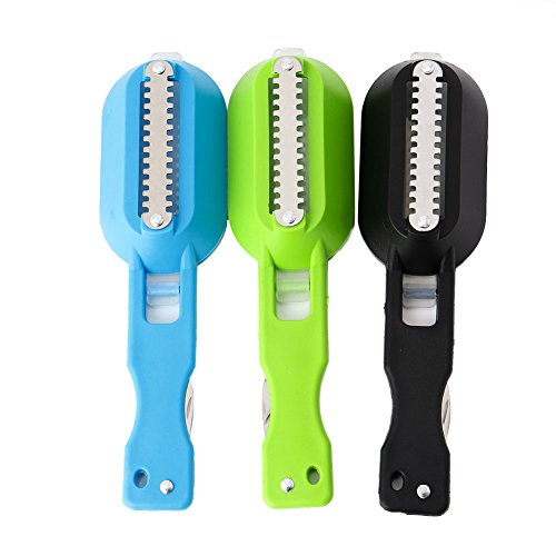 AISme Fish Scales Skin Remover Scaler And Knife Fast Cleaner Home Kitchen Clean Tools