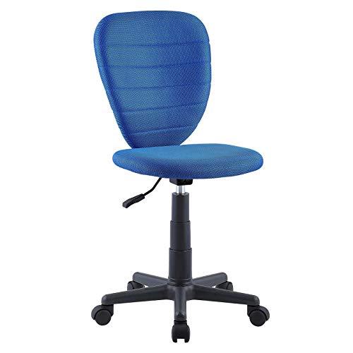 CARO-Möbel Kinderdrehstuhl Discovery Schreibtischstuhl Drehstuhl in dunkelblau, höhenverstellbar