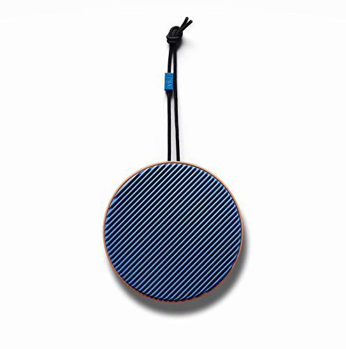 Vifa City - Bluetooth 5.0 Lautsprecher | Tragebare, kabellose Musikbox | Skandinavisches Design - Terrakotta Blau
