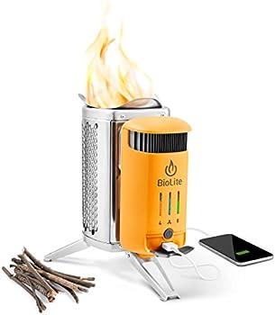 BioLite CampStove 2+ Wood Burning Camp Stove/Generator + Free Hat