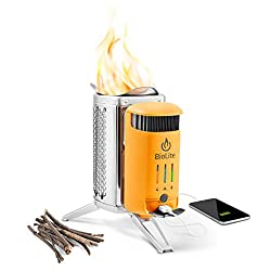 best portable camping stoves wood burning vansage Biolite