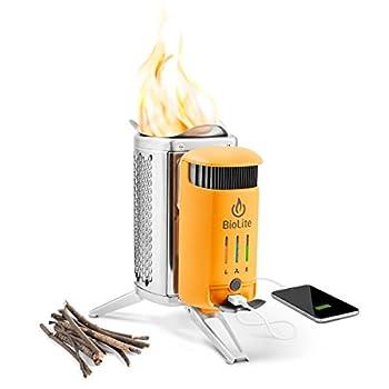 wood burning stove phone charger