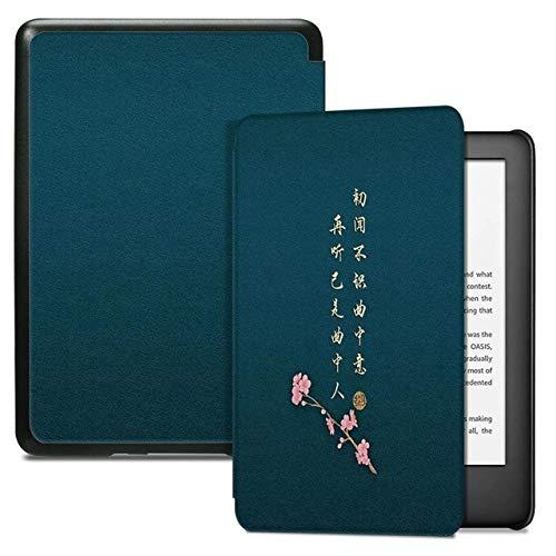 ZHAOXIANGXIANG Kindle Custodia,Custodia per E-Reader Kindle di 10A Generazione (Versione 2019, Modello J9G29R) - Smart Cover Leggera con Sospensione/Riattivazione, Poesia, Kindle 2019 10A Generazione