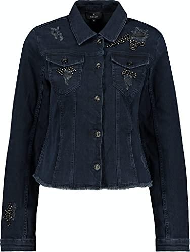 MONARI Jeansjacke mit Schmuckdetails Jacke in Blau, Größe 38