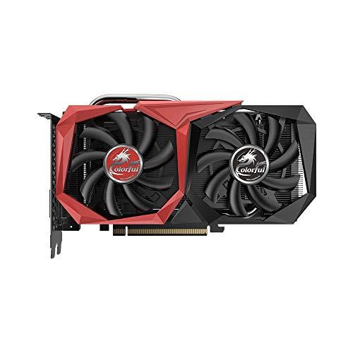 Docooler Colorful Grafikkarte GDDR6 8Pin 6GB GeForce GTX 1660 Ti GPU