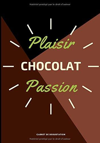 Chocolat Plaisir / Chocolat Passion: Carnet de 50 fiches de dégustation de chocolat à compléter - Table des matières - Format 17,78x25,4 cm (7x10 po)
